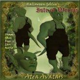 Atea Avatars Halloween Goblin Gift TagHalloween