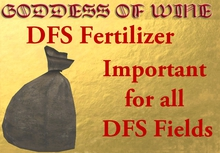 [DFS] Fertilizer * Important for all DFS Fields * Price reduce for YOU :)