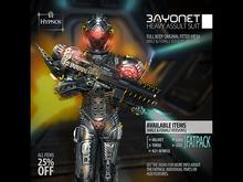 Hypnos - Bayonet Assault Suit - FATPACK (Box-Wear Me)