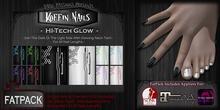 DP - Koffin Nails - FatPack - Hi-Tech Glow (Boxed)