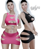 DEMO  Eyelure Top & Skirt