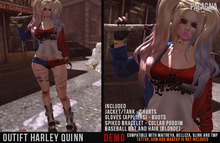 :PC: Outfit Harley Quinn (DEMO) (wear to unpack)