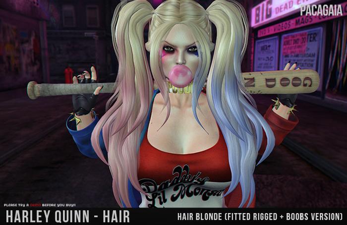 :PC: Harley Quinn - HAIR