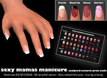 *Sexy Mamas* Manicure - Sculpted Prim Nails