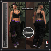 """[RnR] Swag Street """"Street Dance"""" Outfit [Hourglass, Physique & Maitreya]"""