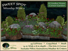 Woodsy Bliss 2 SWEET SPOT - Corner Garden - Garden Arrangement