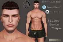 TFS - Elliot Bento Shape for Akeruka Deluxe Clay Bento Head