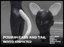 !Boneworks! > Possum Ears and Tail (boxed)