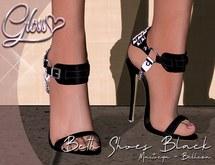*Gloss* Beth Shoes - Black