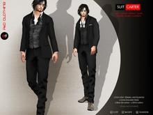 A&D Clothing - Suit -Carter- Ebony