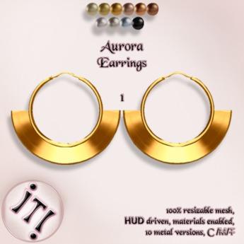 !IT! - Aurora Earrings 1