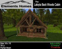 Latoyia Backwoods Log Cabin