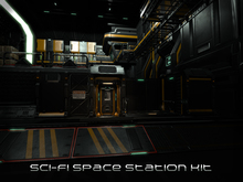 [P.0.E] - Sci-fi Space Station Interior Build Kit