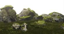 (Fundati) Mossy Rocks + Snowy Rocks