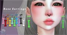.TeaBunny. Bone Earrings