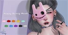 .TeaBunny. Happy Bunny Mask