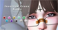 .TeaBunny. Inverted Cross Bindi