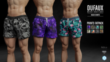 DUFAUX - beach shorts - FATPACK *prints*