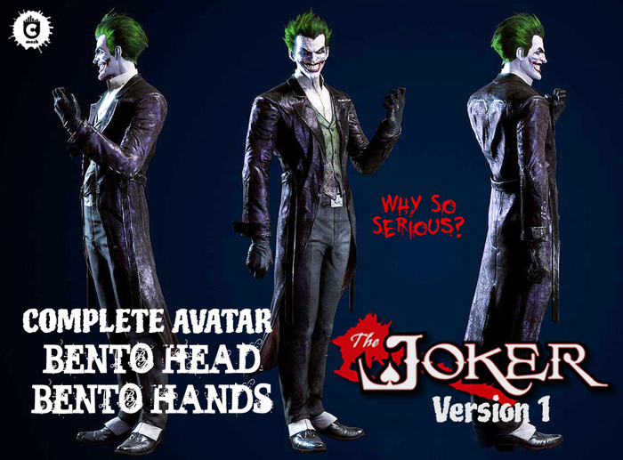 :: UCM :: The Joker Avatar - Bento
