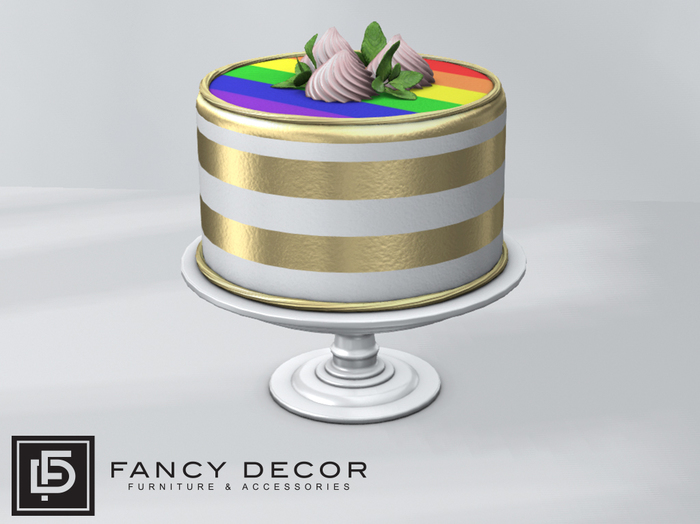 Fancy Decor: Pride Cake