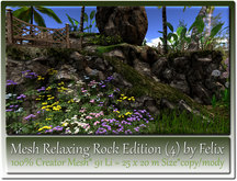 Mesh Relaxing Rock Edition 4=25x20m Size=91 Li copy-mody
