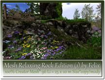 Mesh Relaxing Rock Edition 1=25x20m Size=96 Li copy-mody