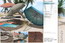 Sway's [Naolin] Beach Umbrella . Mandala