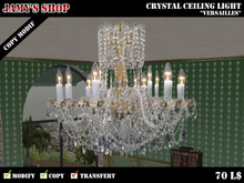 "Crystal Ceiling light ""Versailles"""