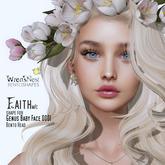 { wren's nest } Faith shape for Genus Baby Face 0001
