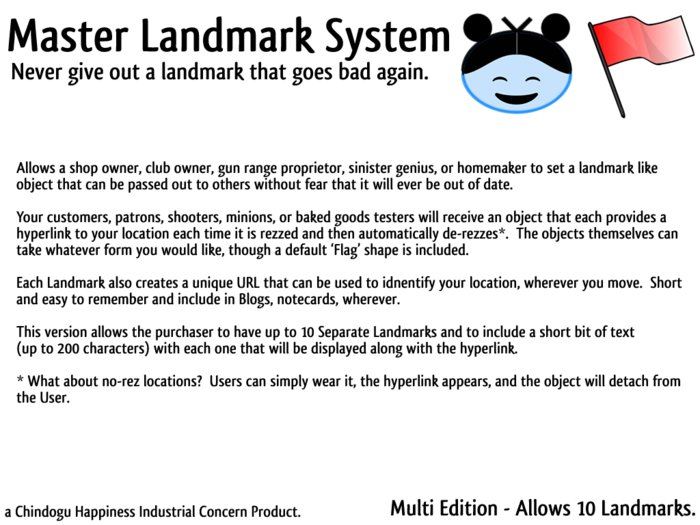 Master Landmark System - Multi Edition