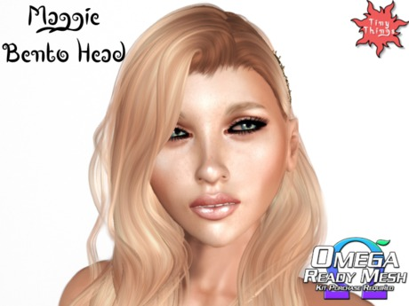 : Tiny Things : Maggie Bento Head