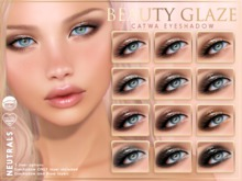 [PF] CATWA EYESHADOW Applier - Beauty Glaze - NEUTRALS