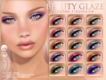 [PF] CATWA EYESHADOW Applier - Beauty Glaze - BASICS