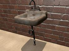 Old Bathroom Sink Mesh - HD Textures - 1 Prim Each