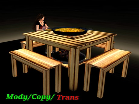 Paella Table *Box*