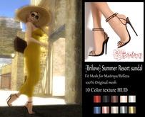 {Brilove} Summer Resort sandal - Set