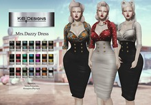 KiB Designs - Mrs Dazzy Dress