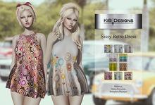 KiB Designs - Sissy Retro Dress DEMO