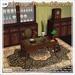 [V/W] Vintage Medical Studio - Complete set of Desk, Cabinet, counter and accessories - Mesh furniture