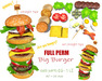 [ FULL PERM ] BIG Burger Yummy!!