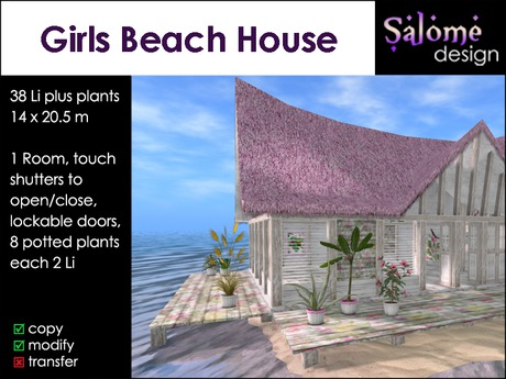 S Beach House Box
