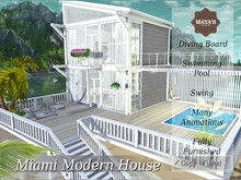 Maya's - Miami Modern House with Swimming Pool