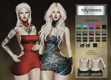 KiB Designs - Ada Dress DEMO