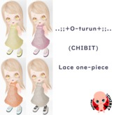 ..;;+O-turun+;;.. (CHIBIT)Lace one-piece
