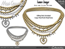 Necklace -  Juliet's Love Heart