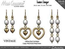 Earrings - Juliet's Love Heart Earrings
