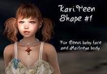 KARI Teen shape by JANUS