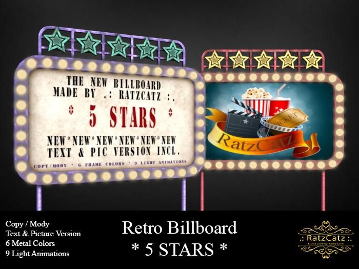 .: RatzCatz :. Billboard *5 Stars* Box