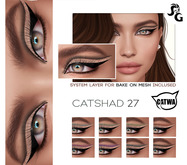 ::SG:: CatShad27 Shadow for CATWA HEAD and Bake on Mesh (BOM - Tattoo Layer)
