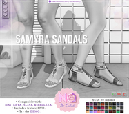 DEMO No Cabide :: Samyra Sandals - HUD 30 Models (wear)
